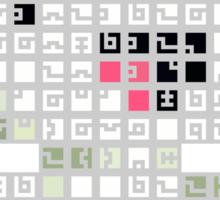 Fez Happy Gomez Tiles STICKER VERSION Sticker
