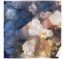 Quartz Crystal Poster