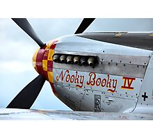 """North American P51 D Mustang - """"Nooky Booky IV"""" ... 2 Photographic Print"""