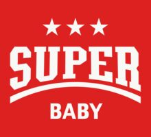 Super Baby (White) by MrFaulbaum