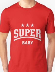 Super Baby (White) Unisex T-Shirt