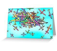 Aviation reporting point Greeting Card