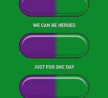 My SUPERHERO PILLS - The Hulk by Chungkong