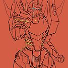 Rodimus sketch by koroa