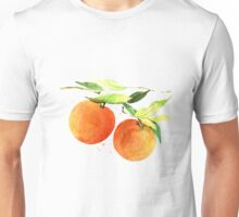 Watercolor oranges Unisex T-Shirt