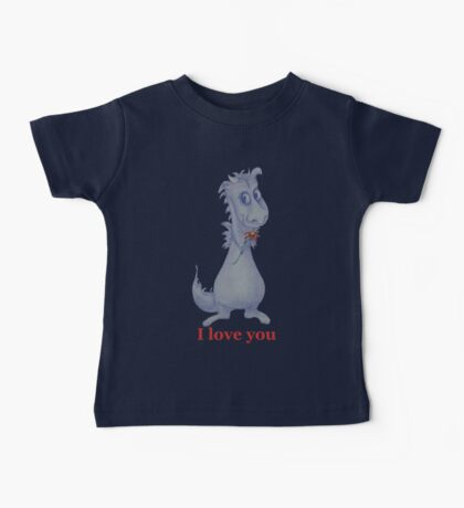 I love you Dragon Baby Tee