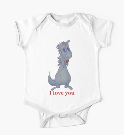 I love you Dragon One Piece - Short Sleeve
