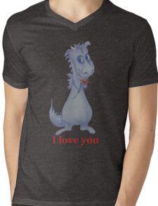 I love you Dragon Mens V-Neck T-Shirt