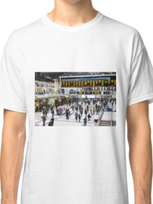 London Train Station Art Classic T-Shirt