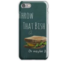 Come on chubbys we can relate! iPhone Case/Skin