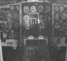 Vintage Plane Cockpit Sticker