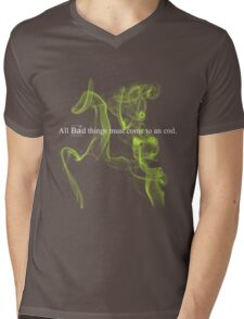 All bad things must come to an end. Mens V-Neck T-Shirt