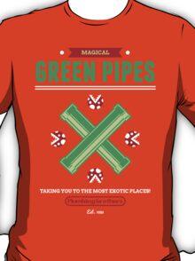 Green Pipes T-Shirt