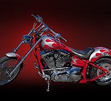 Custom Motorcycle IV by DaveKoontz