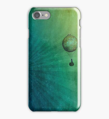 Escape to the universe iPhone Case/Skin