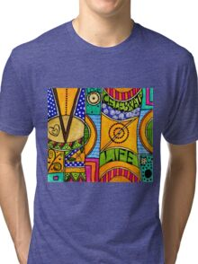 Living a VIBRANT Life Tri-blend T-Shirt