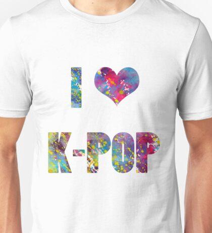 I LOVE K-POP Unisex T-Shirt