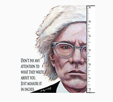 Advice from Warhol Unisex T-Shirt