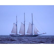Tall Ship In The Fog Photographic Print