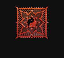 yin yang woodcut mandala (dáorashi) Unisex T-Shirt