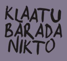 klaatu barada nikto - Evil Dead  by DanDav