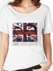 Kray Twins Union Jack T shirts Women's Relaxed Fit T-Shirt