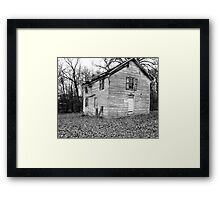 Gray Day Framed Print