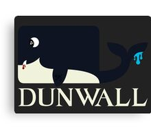 Dunwall poster Canvas Print
