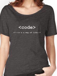 Code - Way of Life Women's Relaxed Fit T-Shirt
