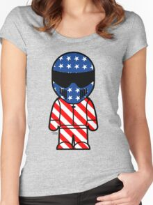 The Stig - American Stig Women's Fitted Scoop T-Shirt