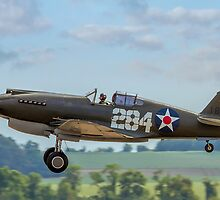 Curtiiss P-40B 41-13297/18P-284 G-CDWH by Colin Smedley