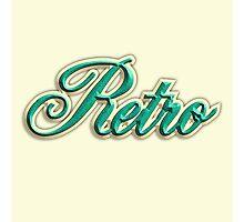 Vintage Retro Photographic Print