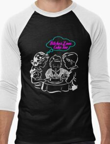 Bitched Love Cake Men's Baseball ¾ T-Shirt