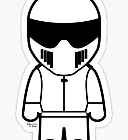 The Stig - Just the Stig Sticker