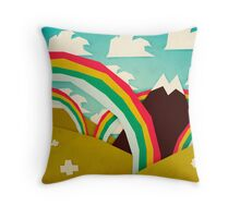Happy happy joy joy! Throw Pillow