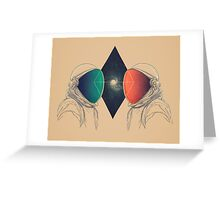 Space Between Greeting Card