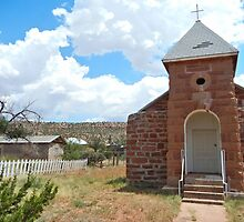 Old Cuervo Church by CandyApplCrafts