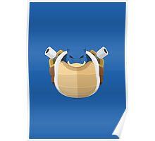 Blastoise Pokemon Starter Poster