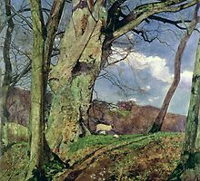 In Early Spring by John William Inchbold by Bridgeman Art Library