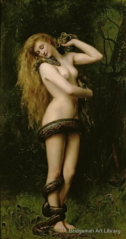 Lilith by John Collier by Bridgeman Art Library