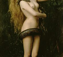 Lilith by John Collier by Bridgeman Art Library