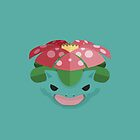 Venusaur Pokemon Starter by millimade