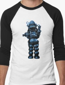 Robby The Robot Men's Baseball ¾ T-Shirt