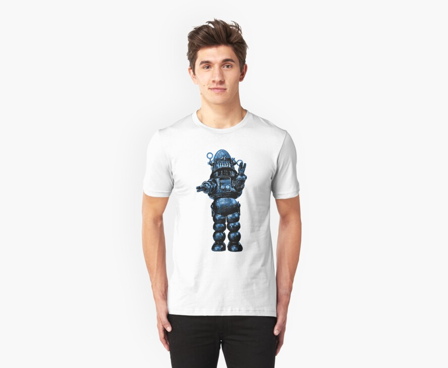 Robby The Robot by sashakeen