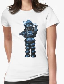 Robby The Robot Womens Fitted T-Shirt