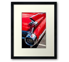 Cadillac Fin Framed Print