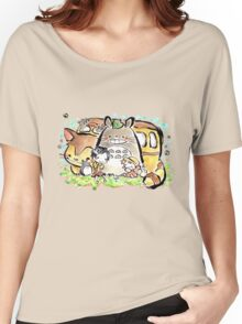 Totoro Women's Relaxed Fit T-Shirt