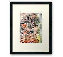 Steampunk Monday [Light version] Framed Print