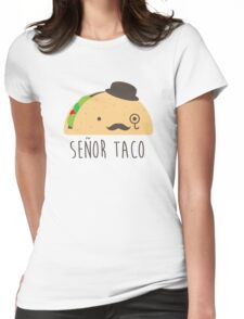 taco Womens Fitted T-Shirt