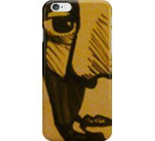 A Simple Stare iPhone Case/Skin
